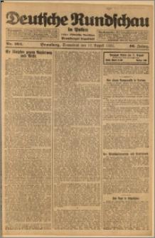 Deutsche Rundschau in Polen. J. 46, 1922, nr 162