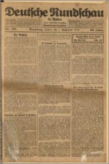 Deutsche Rundschau in Polen. J. 46, 1922, nr 178