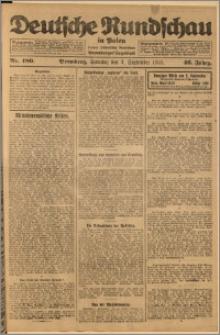 Deutsche Rundschau in Polen. J. 46, 1922, nr 180