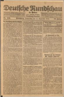 Deutsche Rundschau in Polen. J. 46, 1922, nr 189