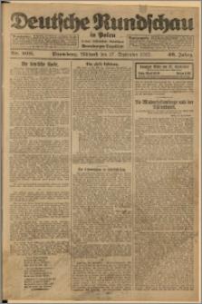 Deutsche Rundschau in Polen. J. 46, 1922, nr 200