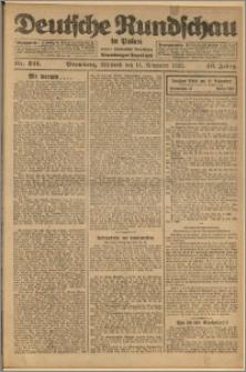 Deutsche Rundschau in Polen. J. 46, 1922, nr 241
