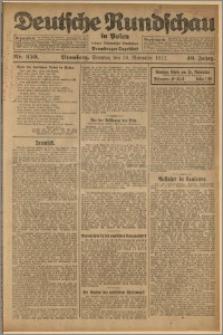 Deutsche Rundschau in Polen. J. 46, 1922, nr 250