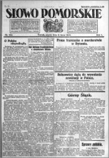 Słowo Pomorskie 1921.07.08 R.1 nr 152