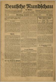 Deutsche Rundschau in Polen. J. 47, 1923, nr 4