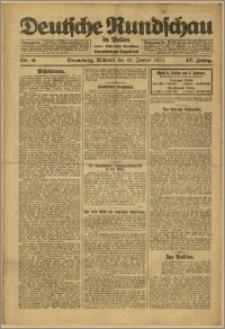 Deutsche Rundschau in Polen. J. 47, 1923, nr 6