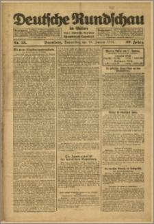 Deutsche Rundschau in Polen. J. 47, 1923, nr 13