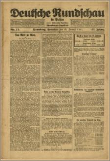 Deutsche Rundschau in Polen. J. 47, 1923, nr 15