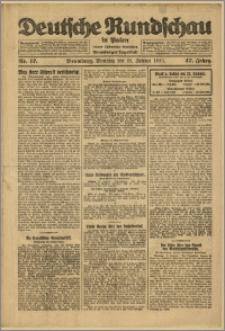 Deutsche Rundschau in Polen. J. 47, 1923, nr 17