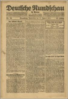 Deutsche Rundschau in Polen. J. 47, 1923, nr 19