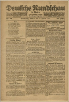 Deutsche Rundschau in Polen. J. 47, 1923, nr 22