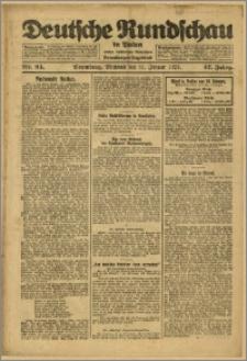 Deutsche Rundschau in Polen. J. 47, 1923, nr 24