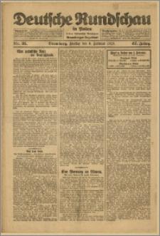 Deutsche Rundschau in Polen. J. 47, 1923, nr 31