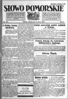 Słowo Pomorskie 1921.07.12 R.1 nr 155