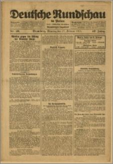 Deutsche Rundschau in Polen. J. 47, 1923, nr 46