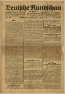 Deutsche Rundschau in Polen. J. 47, 1923, nr 48