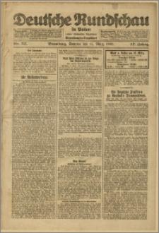 Deutsche Rundschau in Polen. J. 47, 1923, nr 57