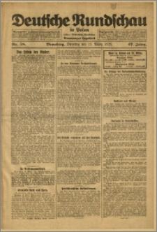 Deutsche Rundschau in Polen. J. 47, 1923, nr 58