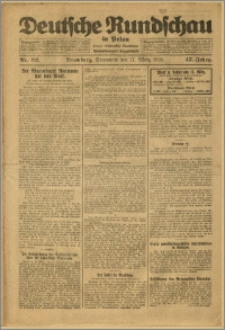 Deutsche Rundschau in Polen. J. 47, 1923, nr 62