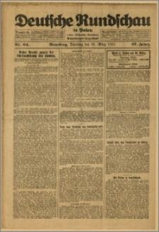 Deutsche Rundschau in Polen. J. 47, 1923, nr 64