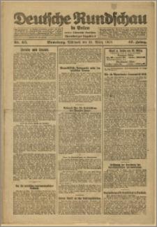 Deutsche Rundschau in Polen. J. 47, 1923, nr 65