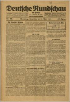 Deutsche Rundschau in Polen. J. 47, 1923, nr 66