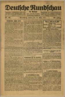 Deutsche Rundschau in Polen. J. 47, 1923, nr 67