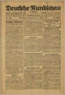 Deutsche Rundschau in Polen. J. 47, 1923, nr 68