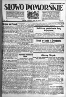Słowo Pomorskie 1921.07.14 R.1 nr 157