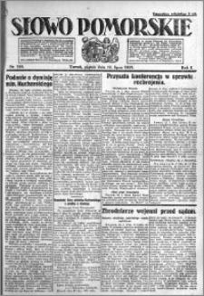 Słowo Pomorskie 1921.07.15 R.1 nr 158