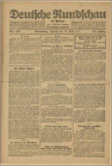 Deutsche Rundschau in Polen. J. 47, 1923, nr 107