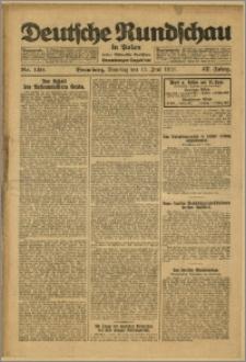 Deutsche Rundschau in Polen. J. 47, 1923, nr 130