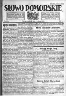 Słowo Pomorskie 1921.07.17 R.1 nr 160