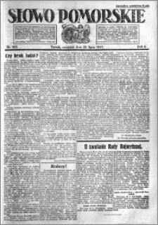 Słowo Pomorskie 1921.07.21 R.1 nr 163