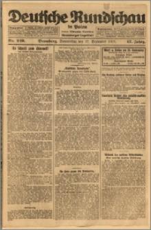 Deutsche Rundschau in Polen. J. 47, 1923, nr 220