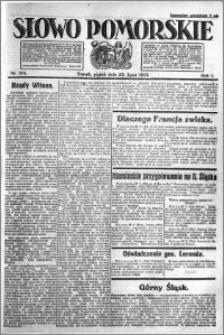 Słowo Pomorskie 1921.07.22 R.1 nr 164