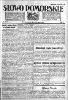Słowo Pomorskie 1921.07.23 R.1 nr 165