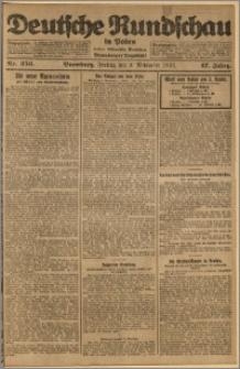 Deutsche Rundschau in Polen. J. 47, 1923, nr 256