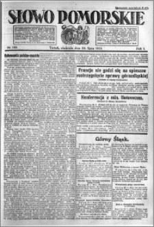 Słowo Pomorskie 1921.07.24 R.1 nr 166