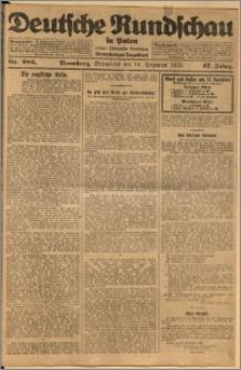 Deutsche Rundschau in Polen. J. 47, 1923, nr 286