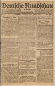 Deutsche Rundschau in Polen. J. 48, 1924, nr 4