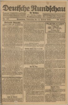 Deutsche Rundschau in Polen. J. 48, 1924, nr 37