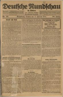 Deutsche Rundschau in Polen. J. 48, 1924, nr 40