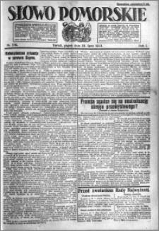 Słowo Pomorskie 1921.07.29 R.1 nr 170