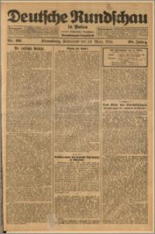 Deutsche Rundschau in Polen. J. 48, 1924, nr 69