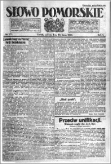 Słowo Pomorskie 1921.07.30 R.1 nr 171