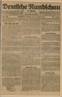 Deutsche Rundschau in Polen. J. 48, 1924, nr 93