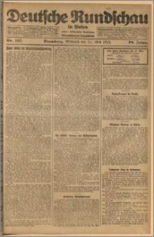 Deutsche Rundschau in Polen. J. 48, 1924, nr 117