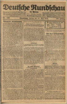Deutsche Rundschau in Polen. J. 48, 1924, nr 119