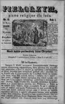 Pielgrzym, pismo religijne dla ludu 1869 rok I nr 13
